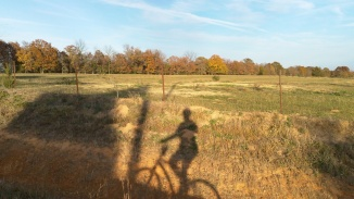 autumn bicycle ride