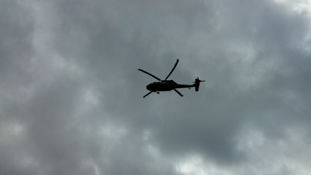 this is black hawk up lowering rope for pick up