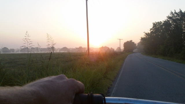 morning ride