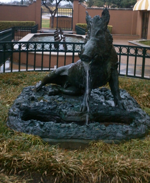 razorback fountain